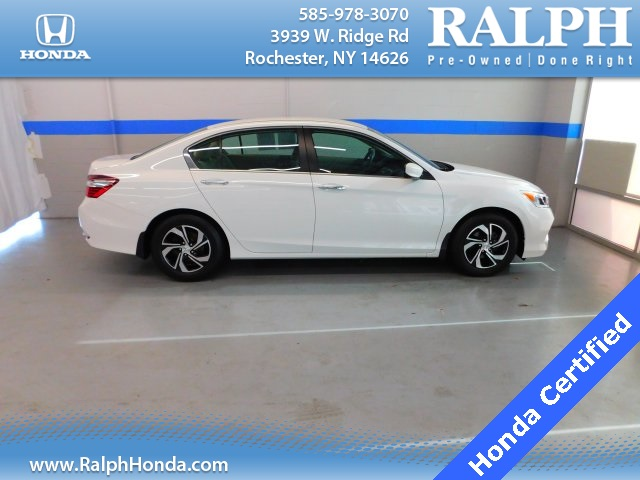 Lovely Certified Pre Owned 2016 Honda Accord LX