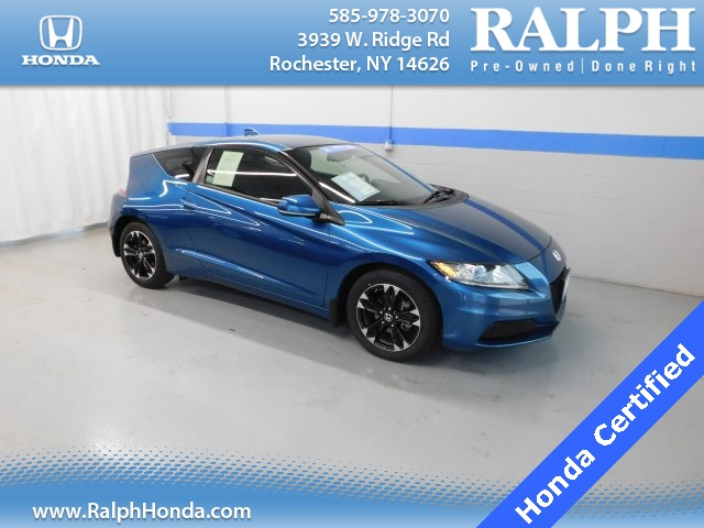 Certified Pre-Owned 2014 Honda CR-Z Base